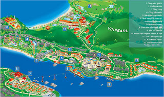 Vinpearl mappa Plano