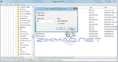 Désactiver le UserLogon de Windows 8