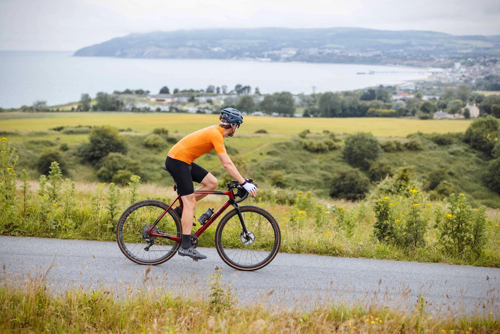 Tim Wiggins Gravel Bike Routes Isle of Wight