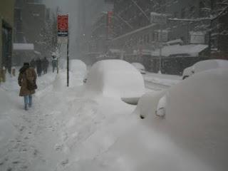 Alertan por tormenta invernal  este domingo y lunes en Nueva York.
