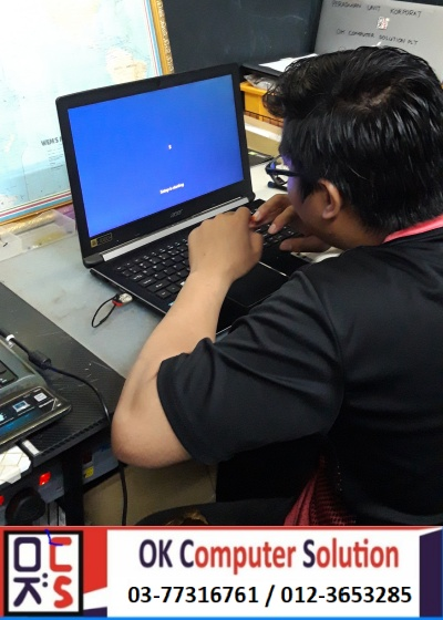 [SOLVED] CANNOT ENTER WINDOWS ACER | KEDAI REPAIR LAPTOP DAMANSARA 15