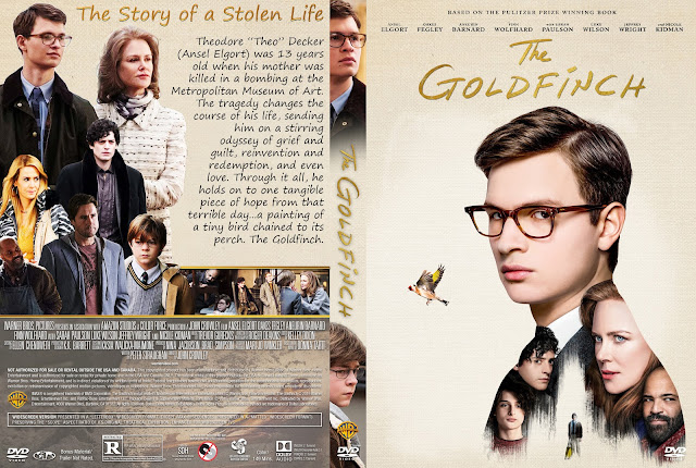 The Goldfinch DVD Cover