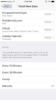 cara setting email .com di smartphone