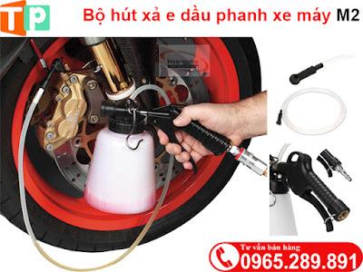 Bộ hút xả dầu phanh xe máy M2