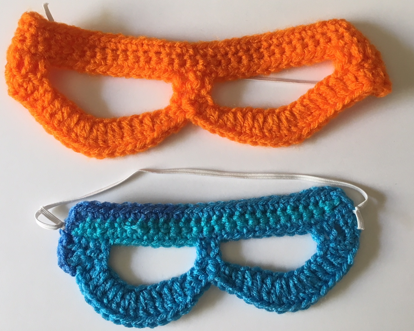 The Blue Crab Stitches At Midnight Super Hero Play Mask Crochet