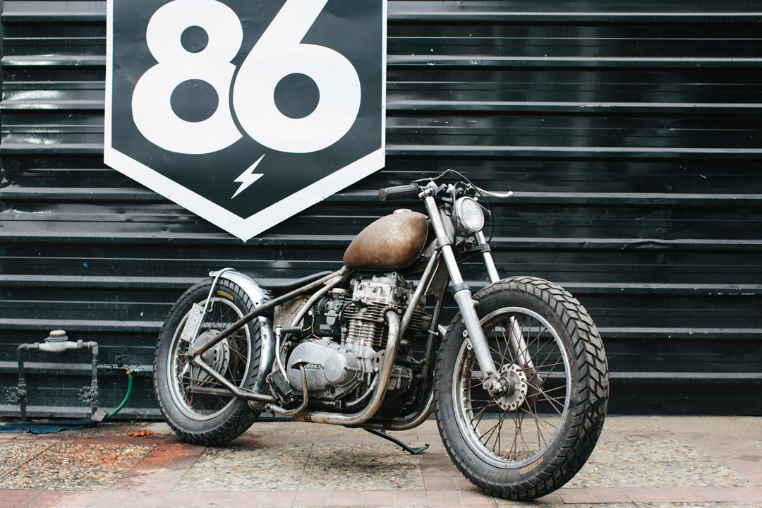 Kawasaki KZ400 By 86 Motorcycles