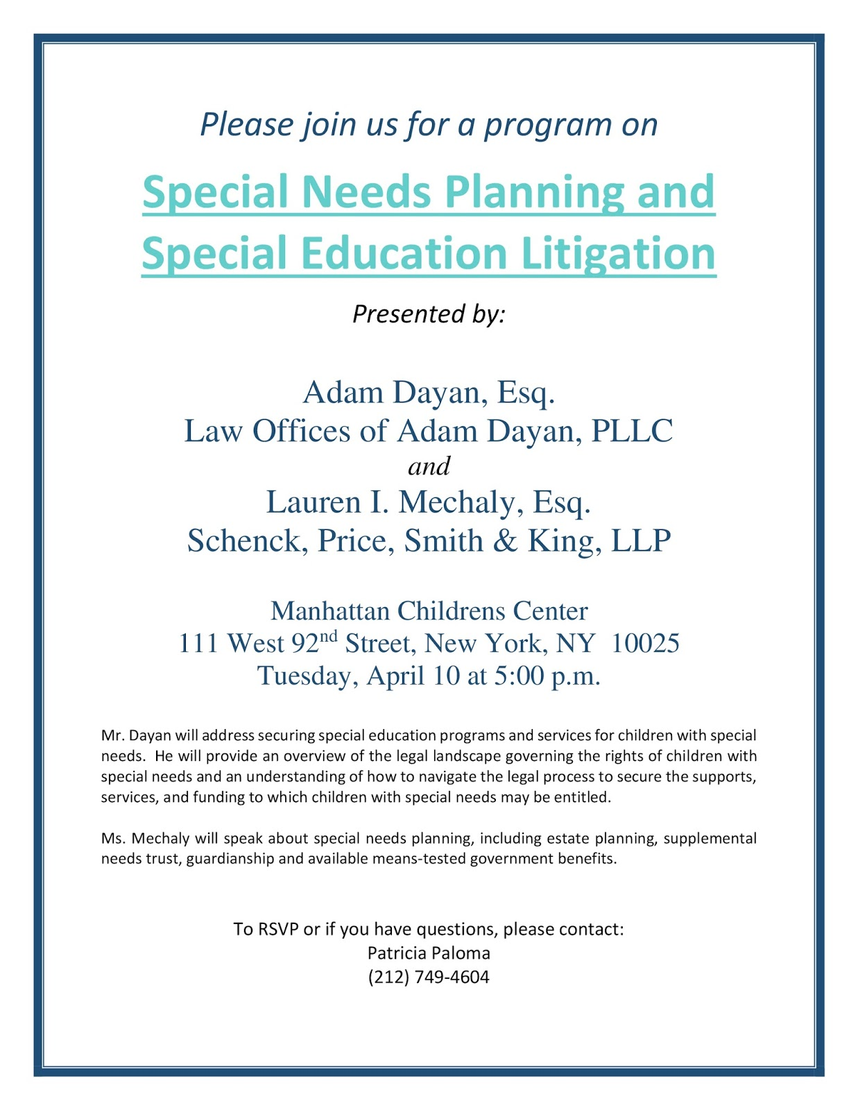 10 Red Flags In Special Education >> Law Offices Of Adam Dayan Special Education News