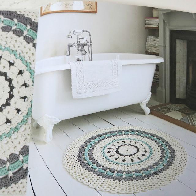 byHaafner, crochet, mandala, mandalas to crochet, book, rug