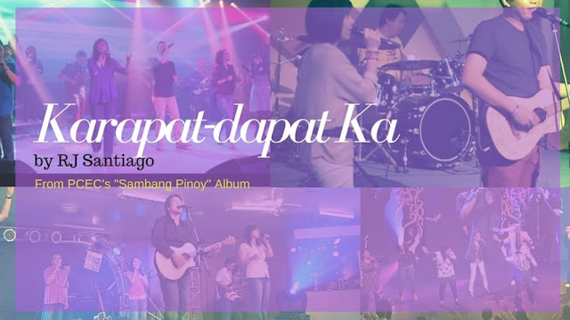 karapat dapat ka rj santiago chords and lyrics