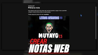 Crear NOTAS WEB Gratis | Collected Notes Tutorial