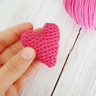 how to crochet heart free pattern
