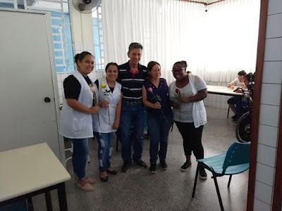 """Funcionarias da APAE de Registro-SP são homenageadas no """"Dia Internacional das Mulheres"""""""
