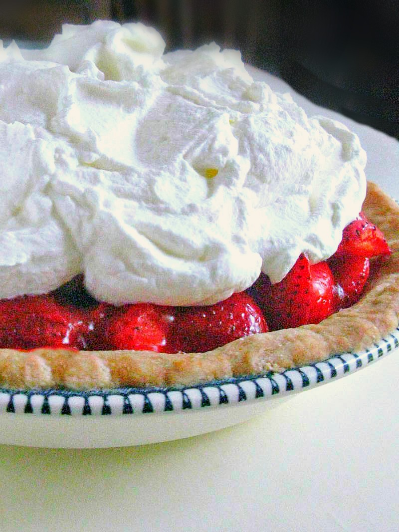 Cooking with K: Easy Strawberry Pie {In An Easy Homemade Buttery ...