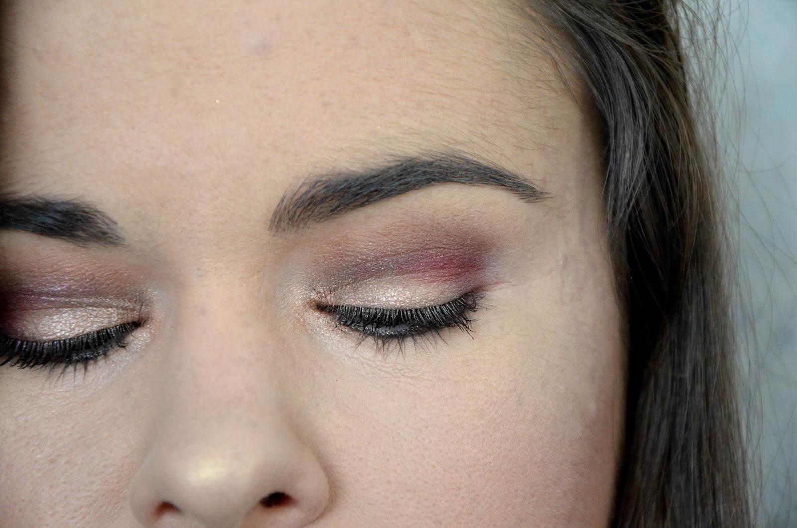 Peppermint Mocha Grande Hotal Café Too Faced tutoriel maquillage zoom