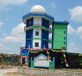 Radar cuaca dual polar milik BMKG di Sintang - Kalbar