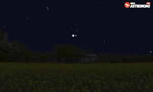 5 Hari Melihat Dekatnya Venus dengan Aldebaran