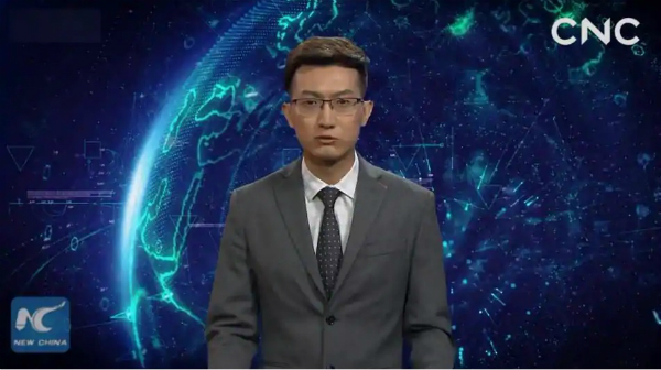 China unveils the first artificial intelligence to deliver news in the world (Video) 1