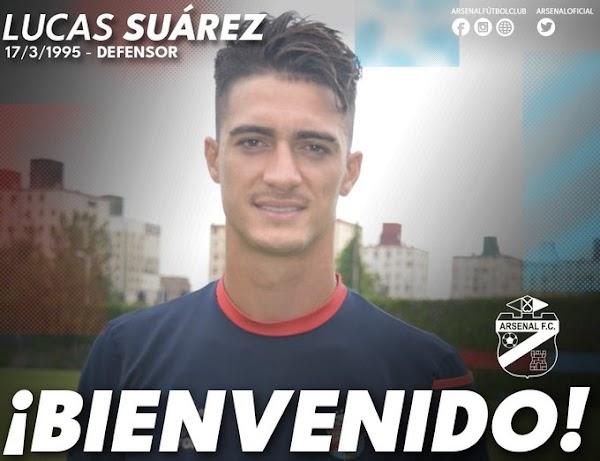 Oficial: Arsenal de Sarandí, firma Lucas Suárez