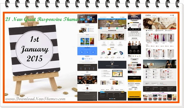 Best New Responsive Themes 2015