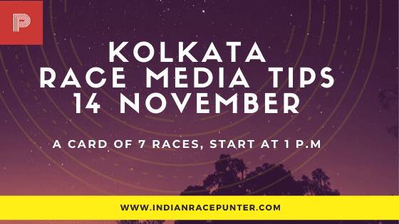 Kolkata Race Media Tips 14 November