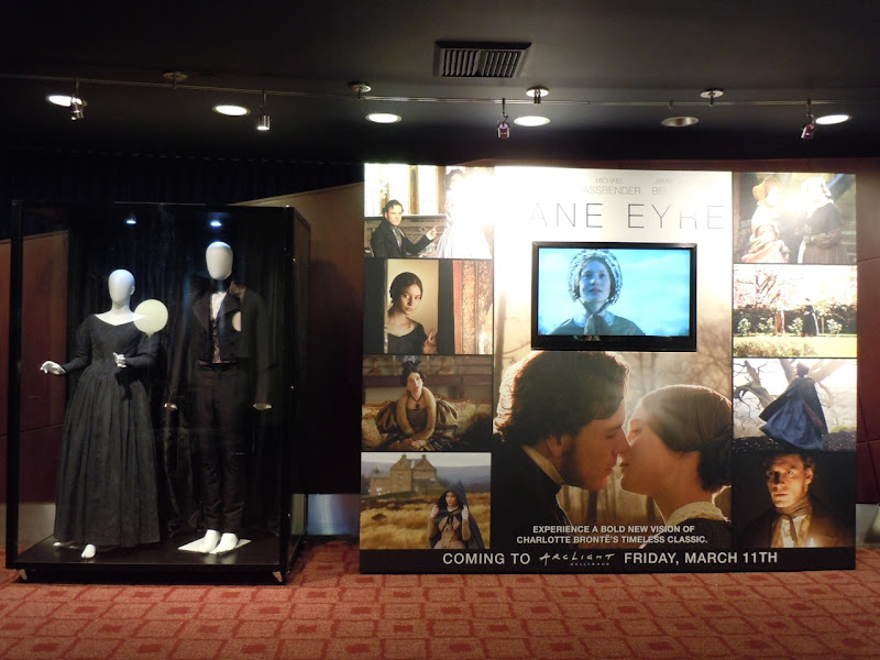 Jane Eyre movie costume display