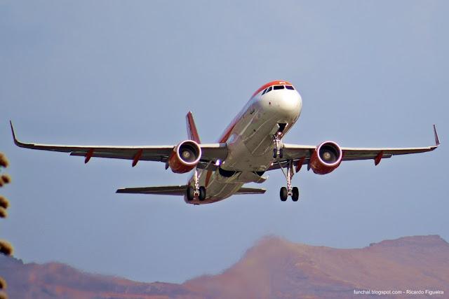 AEROPORTO DA MADEIRA - OE-INA - AIRBUS - A320 214