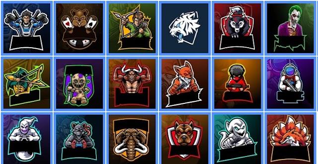 INI DIA Kumpulan Mentahan Logo Squad Esport Terkeren HD