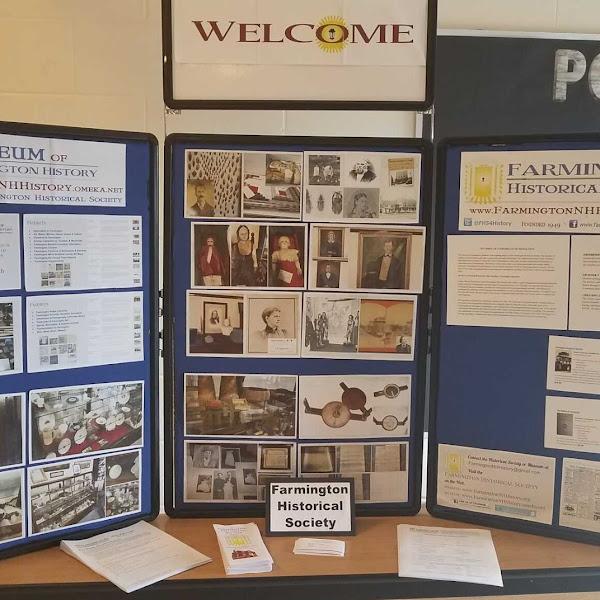 #FarmingtonNH Historical Society At Valley View Resource Fair