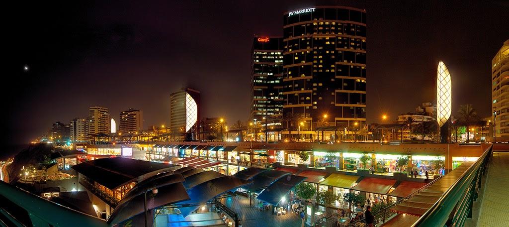 Larcomar shopping em Lima Miraflores