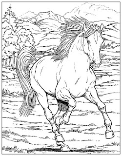 Best Of Images Horse Coloring Pages For Adults