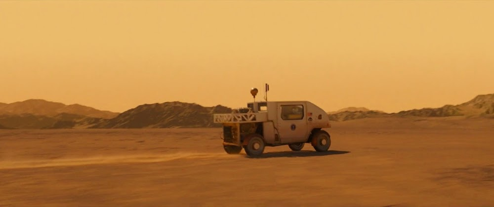 Mars rover - image from Ad Astra movie