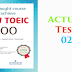 Listening New Toeic 700 - Actual Test 02
