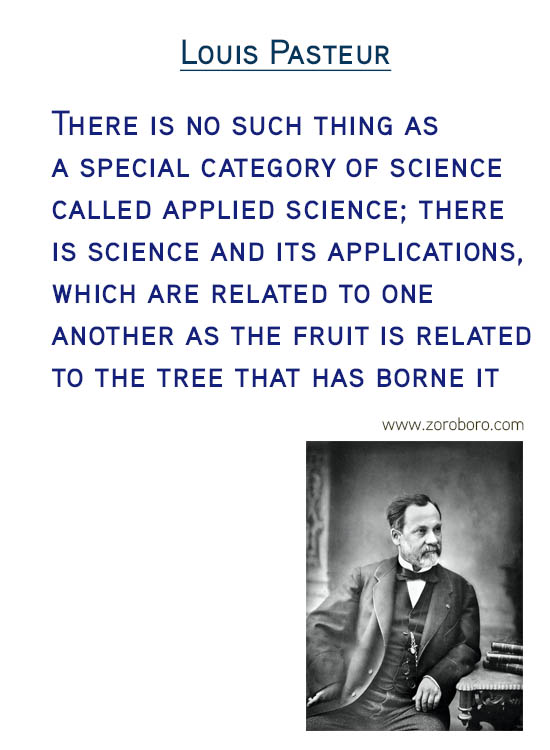 Louis Pasteur Quotes. creativity Quotes, science Quotes, chance Quotes & Inspirational Quotes. Louis Pasteur (French biologist, microbiologist, and chemist)