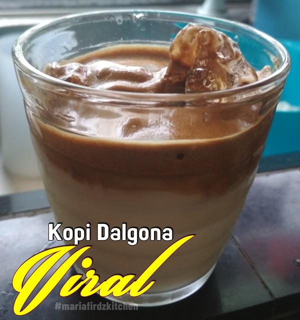 Kopi Dalgona Viral