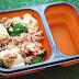 Lunch box - kasza z warzywami i tuńczykiem