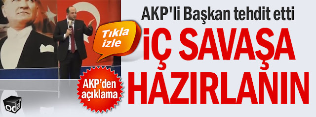 Εμφύλιο πόλεμο προανήγγειλε υψηλόβαθμο στέλεχος του Ερντογάν