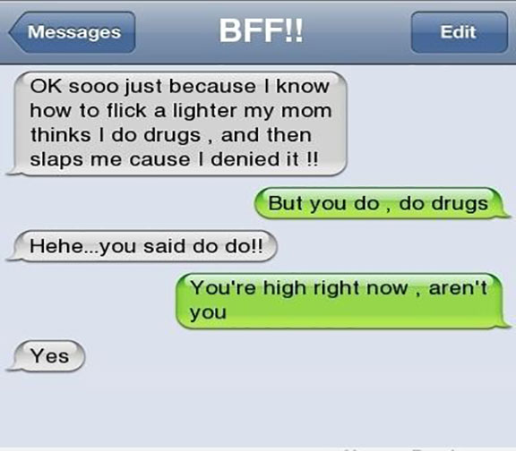 Really Funny Texts Messages