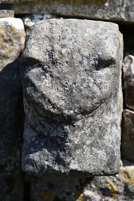Historic Temple Cronan, County Clare.