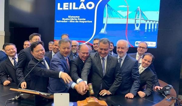 Consórcio chinês vai construir ponte para ligar Salvador à Ilha de Itaparica