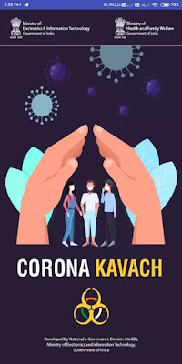 How To Use - COVID19 Corona Kavach App Details