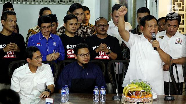 Sandiaga Uno Disebut Alternatif Cawapres Prabowo