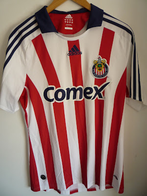 sports shoes bd7c8 6dfc5 Football Uniforms   A football shirt collection: #41 Chivas ...