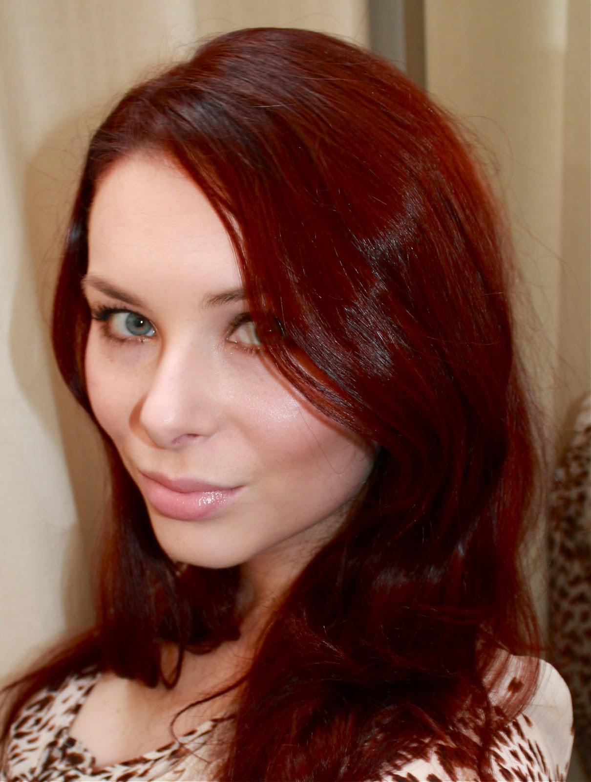 Professional Hair Dye Red