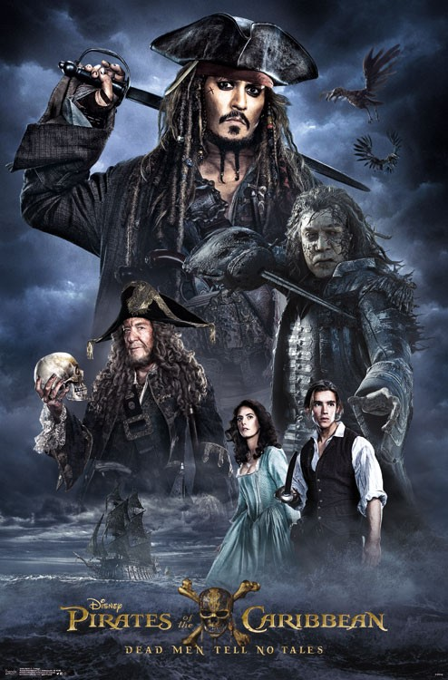 Pirates of the Caribbean 5: Dead Men Tell No Tales Hindi Dubbed Dual Audio