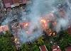 Kantor KUA dan Belasan Rumah Dilahap Sijago Merah, Kerugian Mencapai Rp 2 M Lebih.