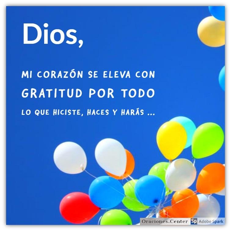 Oración para Darle Gracias a Dios por Todo y Celebrar su Bondad