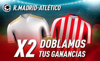 sportium Madrid vs Atlético : Doblamos tus ganancias 1 febrero 2020