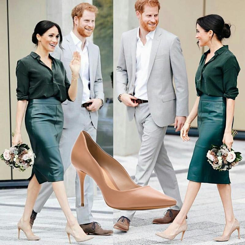 Os sapatos da Meghan Markle podem ser seus