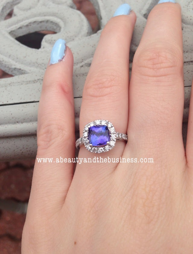 engaged, blogging engagement, wedding blogger, engagement blogger, wedding planning blogger, color engagement ring, tanzanite engagement ring, gemstone engagement ring, proposal story blogger,