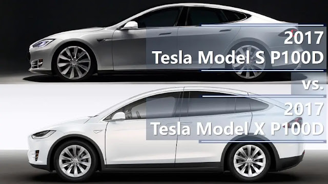 Tesla S dan X